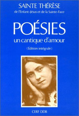 Un cantique d'amour : Poésies