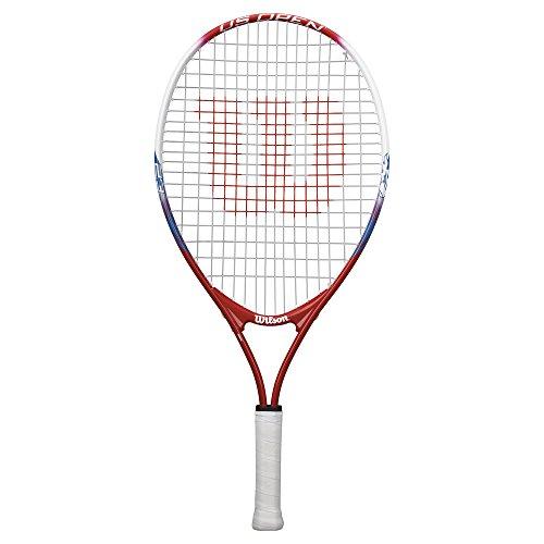 Wilson Kinder-Tennisschläger, US Open 23, 7-8 Jahre, rot/weiß/blau, WRT21020U