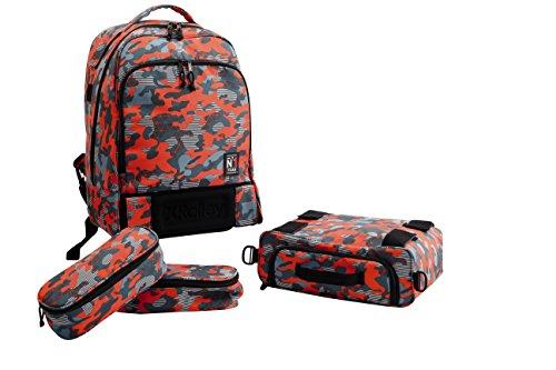 X Rolley XR900300 Zaino 3 in 1 con Ruote, Spallacci Removibili, 35 litri, Poliestere, Multicolore