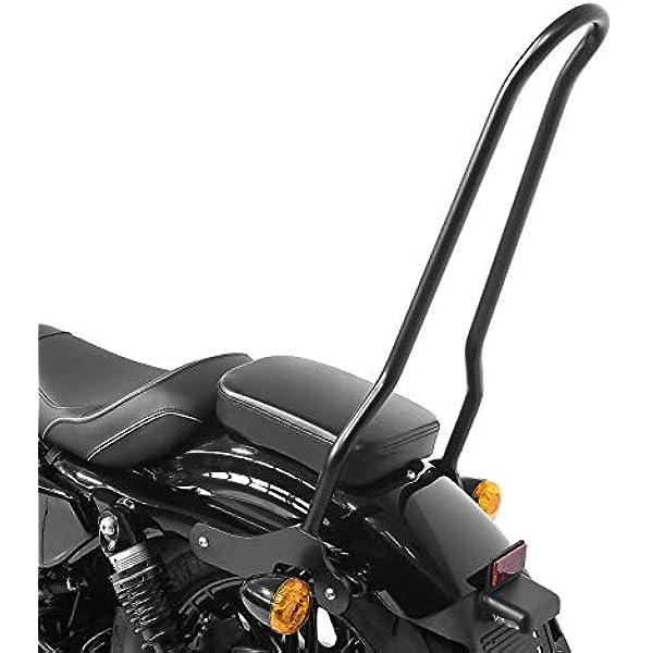 CICMOD Kit Schienalino con Sissy Bar per Harley Sportster XL 883 1200 04-UP Schienalino