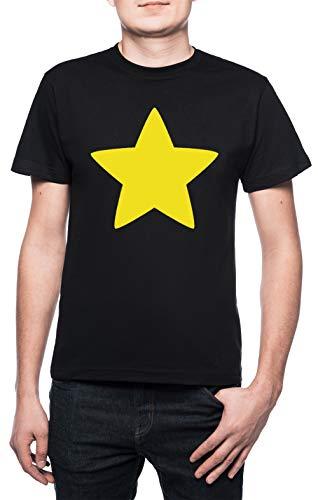 r Herren T-Shirt Rundhals Schwarz Kurzarm Größe XL Men's Black T-Shirt X-Large Size XL ()