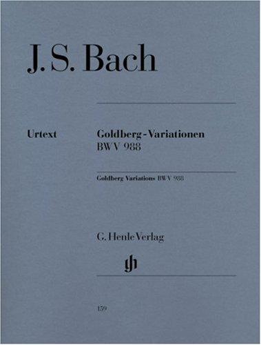 Variations-Goldberg BWV988 - Piano