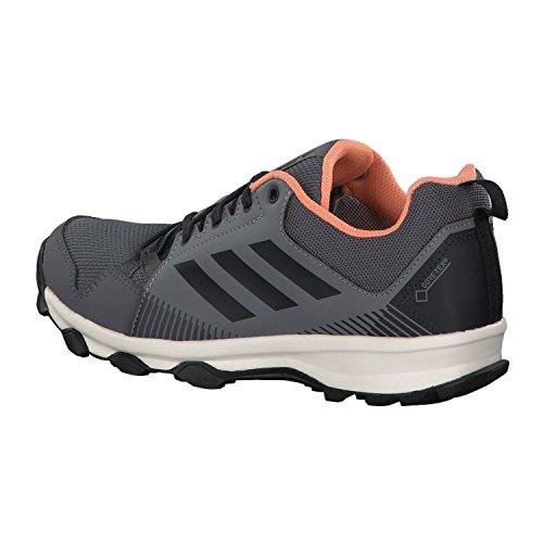 adidas Terrex TraceRocker GTX Trail Laufschuh Damen grey three f17/carbon/chalk coral s18