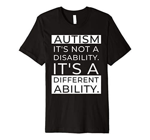 Autism Awareness: Es ist nicht einer Behinderung T-Shirt