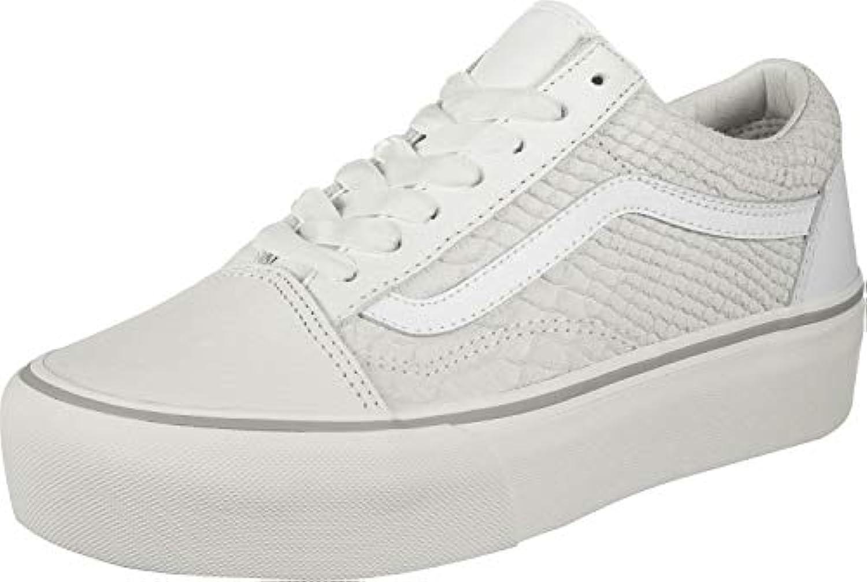 Vans UA UA UA Old Skool Platform bianca Leather Adult Trainers | Miglior Prezzo  | Uomini/Donna Scarpa  d3e149