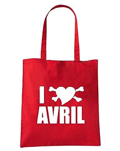 T-Shirtshock - Sac shopping FUN0659 avril lavigne heart cu 3