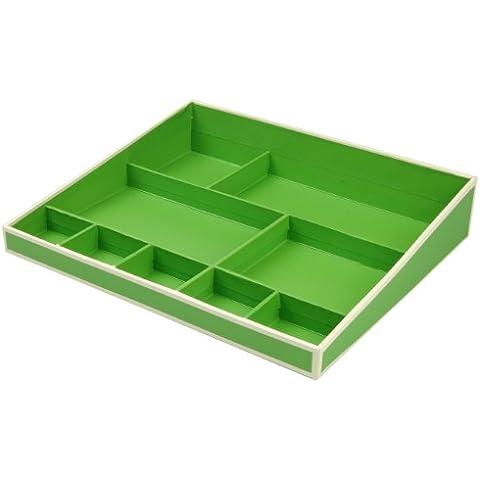Desktop Organizer - verde pastello +++ Sistema di gestione per l'ufficio e la casa, ACCESSORIO (Desktop Box)