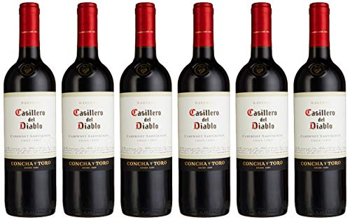Concha y Toro Casillero del Diablo Cabernet Sauvignon Trocken 2016/2017 (6 x 0.75 l)