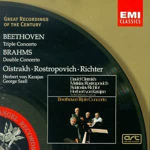 Beethoven : Triple Concerto - Brahms : Double Concerto [Import allemand]