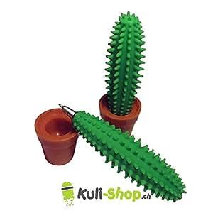 Kuli-shop Penna a sfera a forma di cactus verde