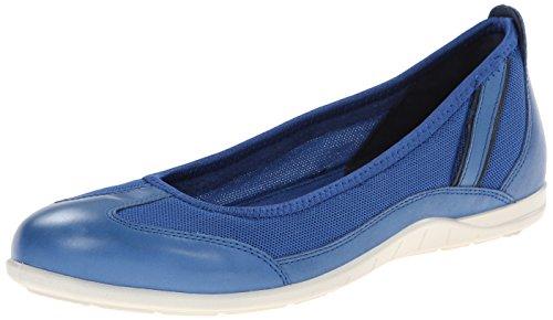 Ecco Bluma, Ballerines Femme Bleu (Cobalt/True Navy)