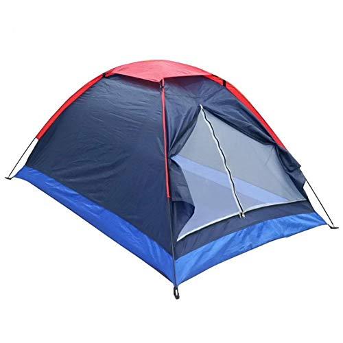 ZWGYQ Doppeltes Anti-spritzendes Marineblau-Doppelzelt des Campingzeltes Im Freien