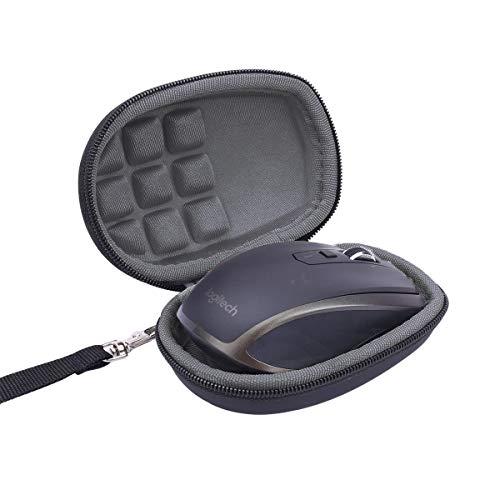 Flycoo Rigide Housse Sac Portable pour Logitech MX Anywhere 1 2 Gen 2S Souris san Fil Boîte Boîtier