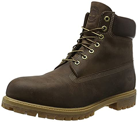 Timberland 6in premium boot, Chaussures montantes homme - Marron (Brown Burnished Full Grain) - 43