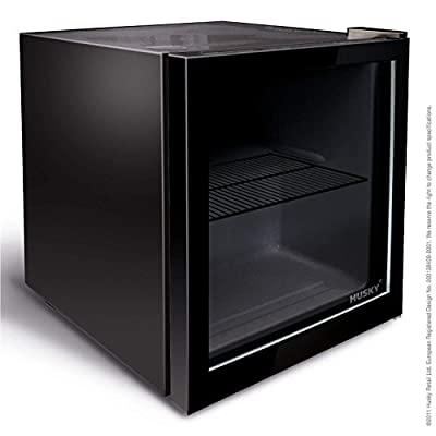 Husky HY192 Mini Fridge/Drinks Chiller - Black