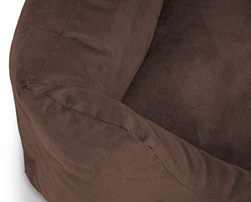 Knuffelwuff 12628 Hundebett Dreamline – Größe M 85 x 63cm, braun - 3