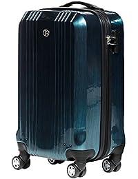 FERGÉ® Koffer in vielen Farben und Größen CANNES Trolley-Koffer Hartschale leicht Hartschalenkoffer 4 Rollen (360°) Hartschale