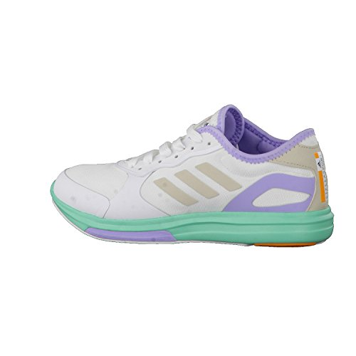 "Damen Fitnessschuhe / Trainingsschuhe ""Yvori Runner"" Footwear White/Radiant Aqua/Dust Purple"