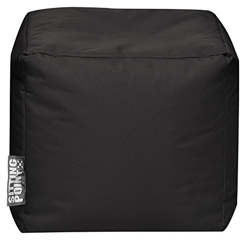 Sitzsack Scuba Cube 40x40x40cm schwarz (Outdoor)