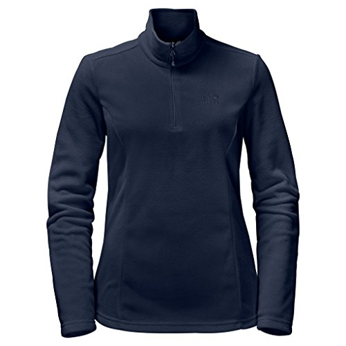 Jack Wolfskin Damen Gecko Women Leicht Outdoor Fleece Pullover Fleecepullover, Midnight blau, XL -