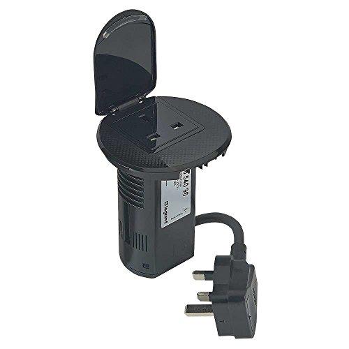 c2g-80862-legrand-2p-e-usb-charger-british-standard-power-desk-grommet-socket-with-2-m-cord-black