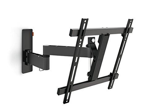 Vogel\'s WALL 2245 TV-Wandhalterung für 81-140 cm (32-55 Zoll) Fernseher, 180° schwenkbar und neigbar, max. 20 kg, Vesa max. 400 x 400, schwarz