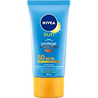 Nivea Sun - Protege & Broncea - Crema facial solar SPF50 resistente al agua - 50 ml