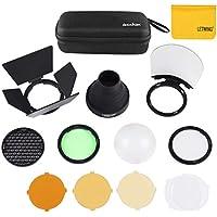 Godox AK-R1 Pocket flash Light kit di accessori per Godox V1-S,V1-C,V1-N,V1-F, H200R, Godox AD200 AD200PRO accessori