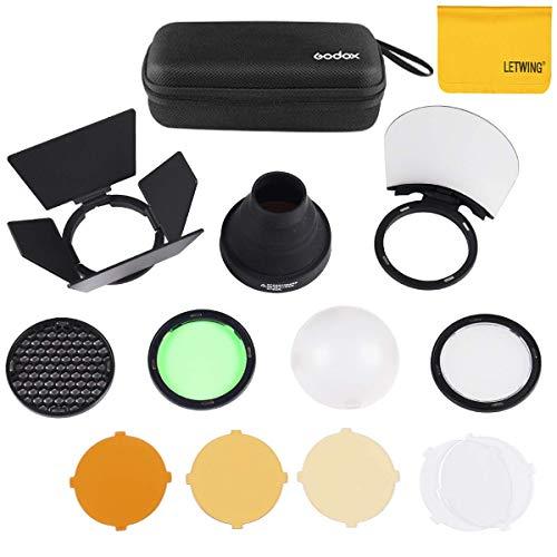 Godox AK-R1 Taschenlampen Zubehör für Godox H200R Godox AD200 Zubehör and V1C V1S V1F Round Head Camera Flash Flash Head