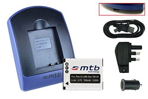battery-charger-usb-main-car-pentax-d-li88-sanyo-db-l80-
