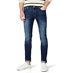 JACK & JONES Jjiliam Jjoriginal Am 014 Lid Noos, Jeans Hombre, Azul (Blue Denim), W34/L34 (Talla del fabricante: 34)