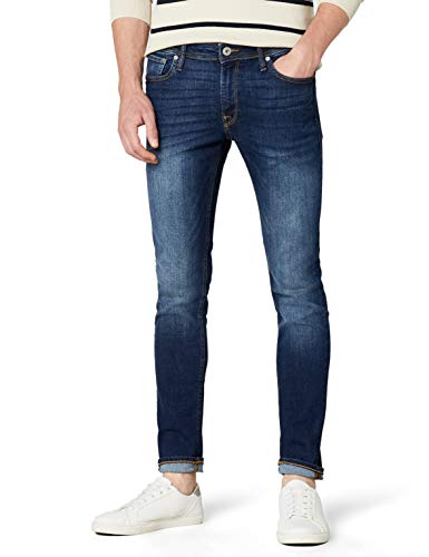 JACK & JONES Herren Liam Original Am 014 Jeanshose, Blue Denim, 34W / 32L