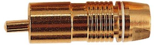 Weiß Bessere Qualität mit vergoldeten Cinch-Stecker mit PTFE-Isolation, Farbe Coded Band, Einbauschränke Compression Type Cable Grip und Lötanschlüsse