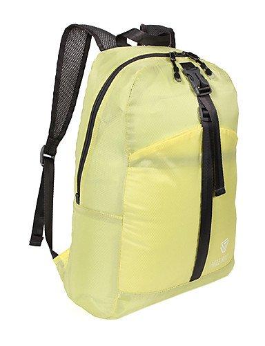 HWB/ L Wandern Tagesrucksäcke Camping & Wandern / Klettern / Reisen Outdoor Regendicht Gelb / Rot / Blau / Orange / FuchsiaNylon / Polyester / Yellow