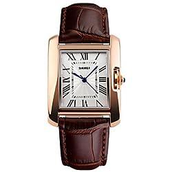 Beautiful Watches , Skmei® Women Fashion Quartz Leather Strap Wrist Watch 30m Waterproof Assorted Colors