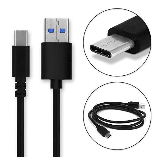CELLONIC® Câble de données USB (1m) Compatible avec Crosscall Trekker-X4 Action-X3 / Core-x3 / Trekker-X3 (USB C (Type C) vers USB A (Standard USB)) Câble Data USB Noir