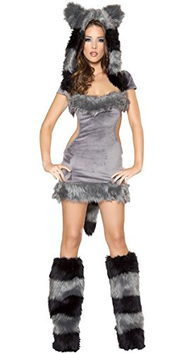 LLY Siamesische Katze Halloween-Kostüm Backless Frauen