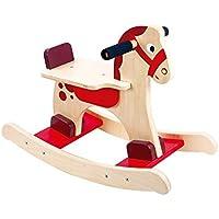 Tooky Toy - Caballito balancín de madera