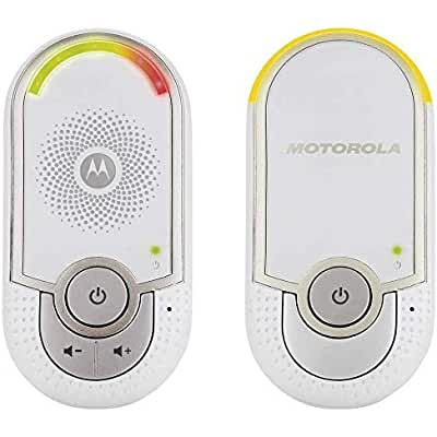 Motorola MBP 8 - Vigilabebés audio plug-n-go con modo eco y luz nocturna