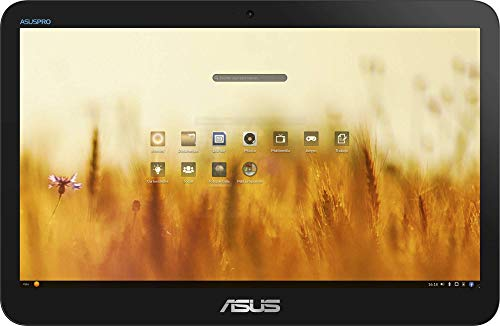 ASUS AiO V161GAT-BD022D - All-in-One-PC, 39,6 cm (15,6 Zoll) (Intel Celeron N4000, 4 GB RAM, 128 GB SSD, SO Endless, Englisch) Schwarz - QWERTY-Tastatur Spanisch