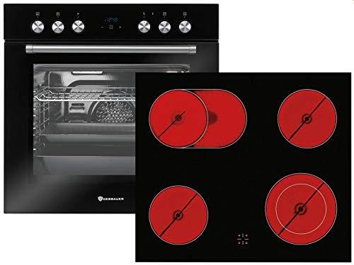 Dessauer 9906 57 Set Einbauherd EH 9948 19 + Glaskeramikkochfeld KFH 9947 08