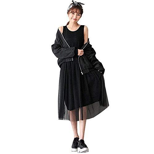 Abito da donna premaman girocollo maniche moda senza abito semplice glamorous da infermiera elegante moda per il tempo libero tulle maternità vestitino abito estivo abiti