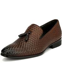 San Frissco Men's Leather Formal Loafers