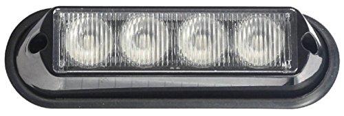 Maypole Mp4111 LED strobe lampe Ambre, 4 x 3 W, 12/24 V