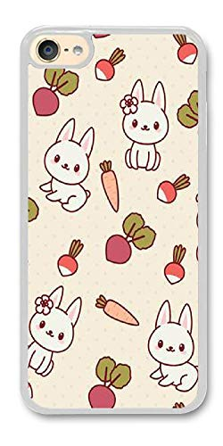 sanlianwangluokeji Custom Gifts ipod Touch 6 Case - Rabbit with Vegetables Hard Plastic Phone Cell Case for ipod Touch 6