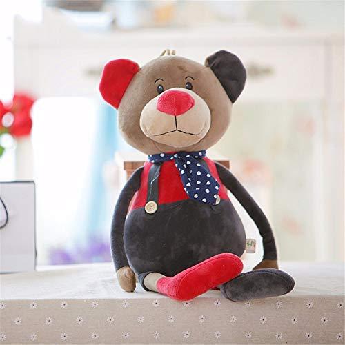 xutongrui Cartoon plüsch Spielzeug Tier Kissen 60cm dreidimensionale Wohnzimmer Sofa Kissen abnehmbar und waschbar puppenkissen Geburtstagsgeschenk, Big Bear (Stofftier Bear Big)