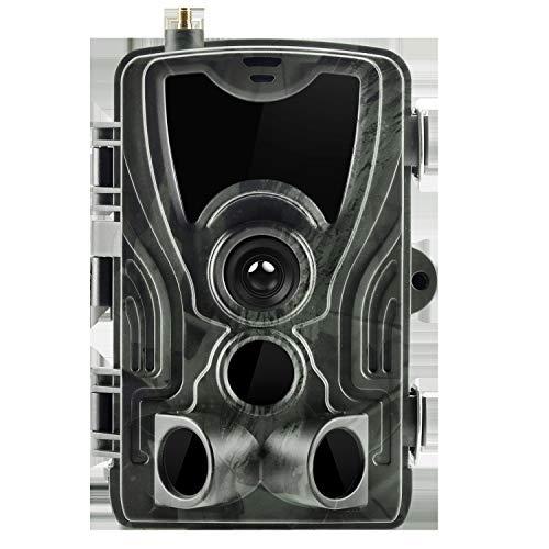 """LZXLZX Wildkamera 16MP 1080P Jagdkamera Bewegungsmelder Nachtsicht 2.4\"""" Norme IP66, LCD Wasserdicht Und 120 ° Weitwinkelobjektiv, IP65 Wasserdicht Trail Kamera Zur Wildbeobachtung Und Haussicherheit"""