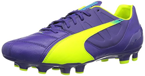 Preisvergleich Produktbild Puma evoSPEED 3.3 FG,  Herren Fußballschuhe,  Violett (prism violet-fluro yellow-scuba blue 01),  46 EU (11 Herren UK)