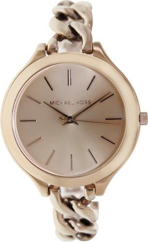Michael Kors Damen-Armbanduhr Analog Quarz Edelstahl MK3223