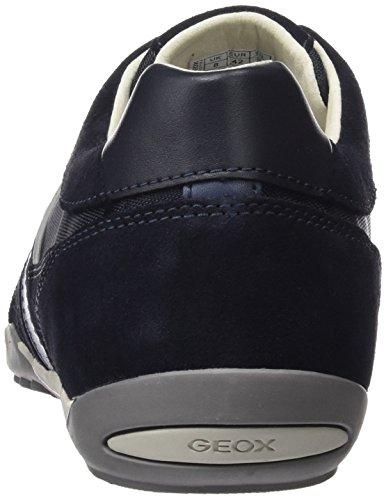 A Sneaker Navy U Herren Blau Geox Wells qzt17Cnw